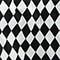 Losange noir et blanc