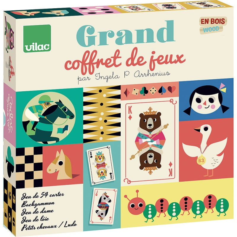 Grand Coffret Multi Jeux Ingela P Arrhenius Sur La Jungle Du Prince